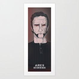 ARES Art Print