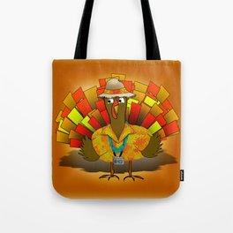 Vacation Turkey Illustration Tote Bag