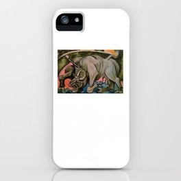Pablo Picasso Dying Bull 1934 T Shirt, Artwork Reproduction iPhone Case