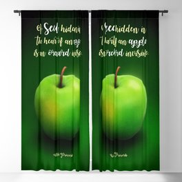 Apple Seed Blackout Curtain