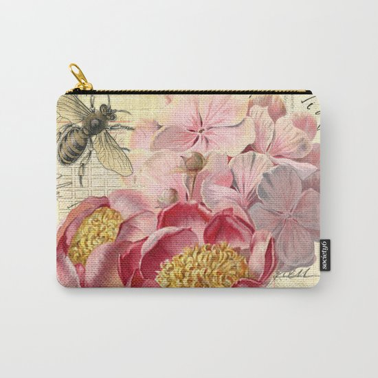 Vintage Flowers #20 Carry-All Pouch