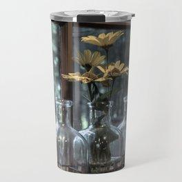 Bottled Flowers Travel Mug