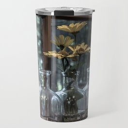 Bottled Flowers Travel Mug