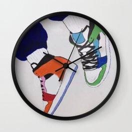 Trendy Sneaker Jordan Wall Clock