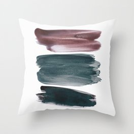 Abstract Minimalism Glam #4 #minimal #ink #decor #art #society6 Throw Pillow