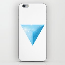 cosmic triangle iPhone Skin