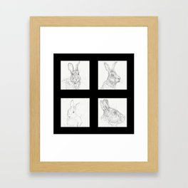 Rabbits 1 Framed Art Print
