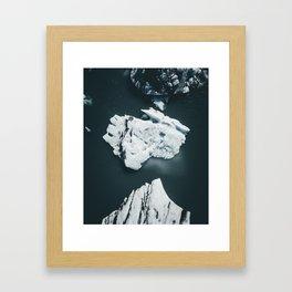 Jokulsarlon Lagoon Iceland Framed Art Print