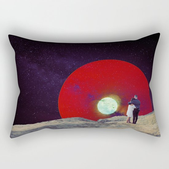 Together with the Sunset Rectangular Pillow
