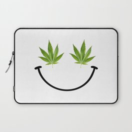 Weed Smile Laptop Sleeve