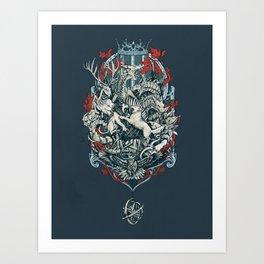 You Win or You Die Art Print