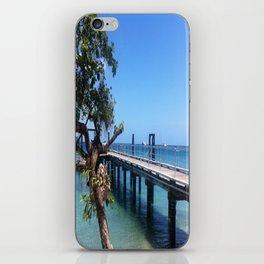 Fitzroy Blue iPhone Skin