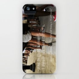 ...I swear we were infinite - The Perks of Being a Wallflower iPhone Case
