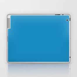 Cyan cornflower blue Laptop & iPad Skin
