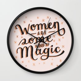 Women are Some Kind of Magic - The Princess Saves Herself in This One Wall Clock
