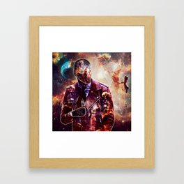 Citizen of the Universe Framed Art Print