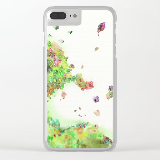 breezy canopy Clear iPhone Case