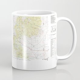 NV Ely 321501 1987 topographic map Coffee Mug
