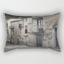 Sicilian Alley in Caltabellotta Rectangular Pillow