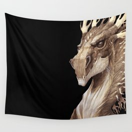 Dragon Portrait Wall Tapestry