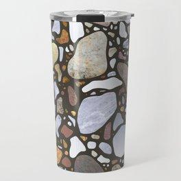 Terrazzo on Gray Travel Mug
