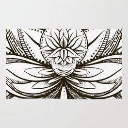 ornamental Lotus Rug