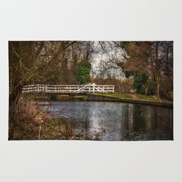 Sulhamstead Swing Bridge On The Kennet and Avon Rug