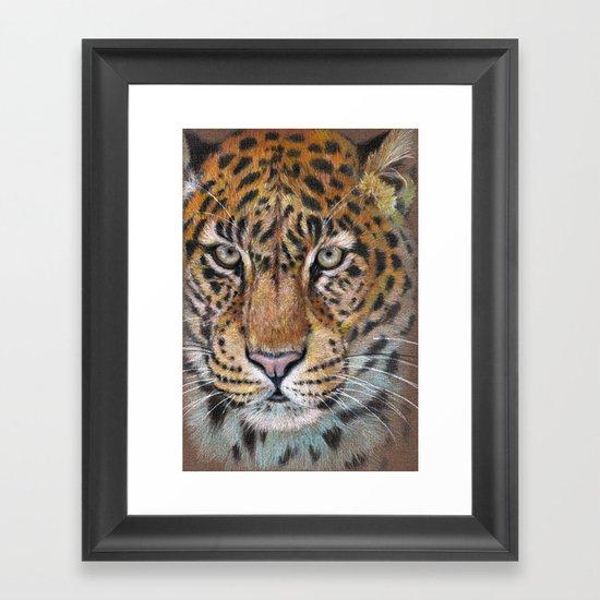 Panthera CC2012-01 Framed Art Print