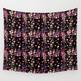 Autumn Night Wall Tapestry