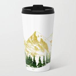 mountain # 8 Metal Travel Mug