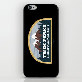 Twin Peaks Sheriff Department (Redux) iPhone Skin