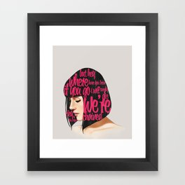 Songs VI.  Framed Art Print
