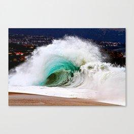 Waves - The Wedge Newport Beach CA Canvas Print