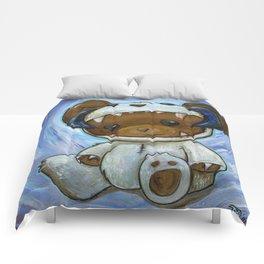 Mr. Chompypants meets a Wampa Comforters