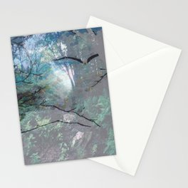 """""""Eagle In The Mist"""" Stationery Cards"""
