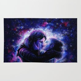 Lovers in Space Rug