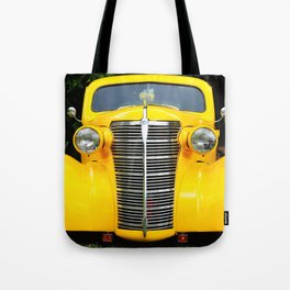 Yellow Chevy Tote Bag