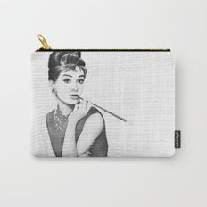 Audrey Hepburn Breakfast at Tiffanys Carry-All Pouch