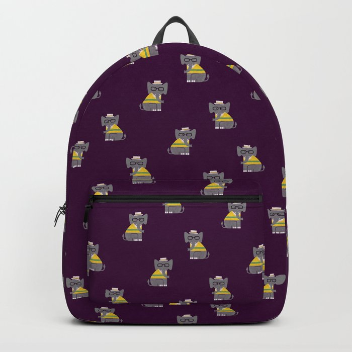 Rodney the preppy elephant Backpack