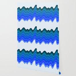 Retro Ripple Sea Wave Wallpaper