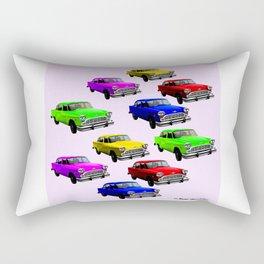 Vintage old Cars 1 Rectangular Pillow