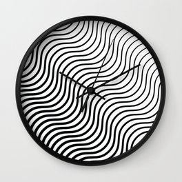 Whiskers Black #399 Wall Clock