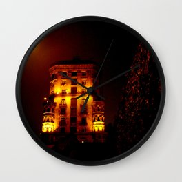Night Crest 6 Wall Clock