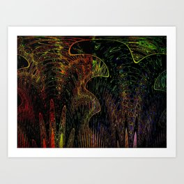 Blackbird tried to steal my Soul Art Print