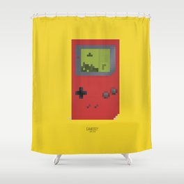 Pixelated Technology - Gameboy Shower Curtain