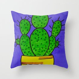 BIG Cacti Throw Pillow