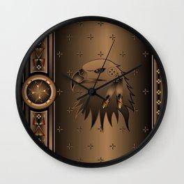 Eagle Nation Wall Clock