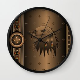 Eagle Nation Wall Clock