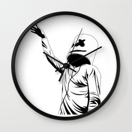 Marsmello tour Wall Clock