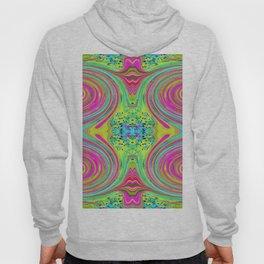 Groovy Abstract Pink Swirl Art 094 Pattern Hoody
